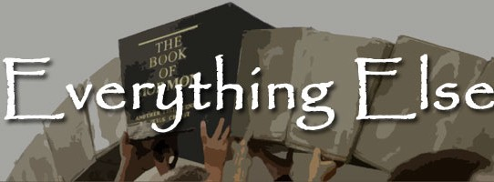 Book of Mormon Issue 6+: Everything else