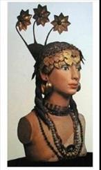 An Assyrian woman, UR, 2650 BC