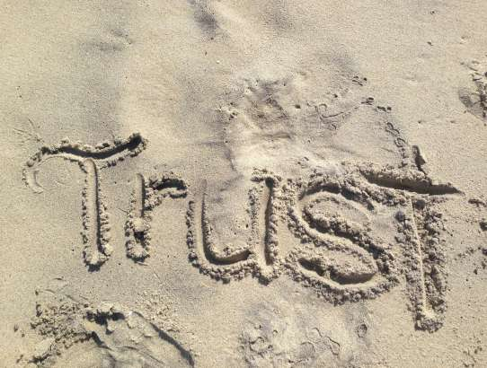 It's all about trust